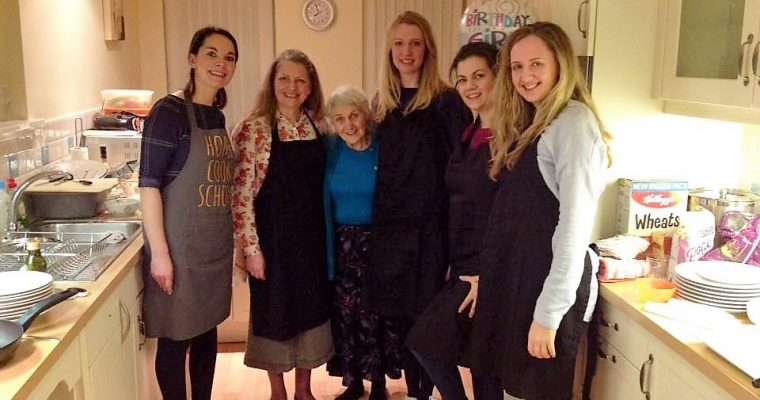Client Cooking Party Birthday Celebrations