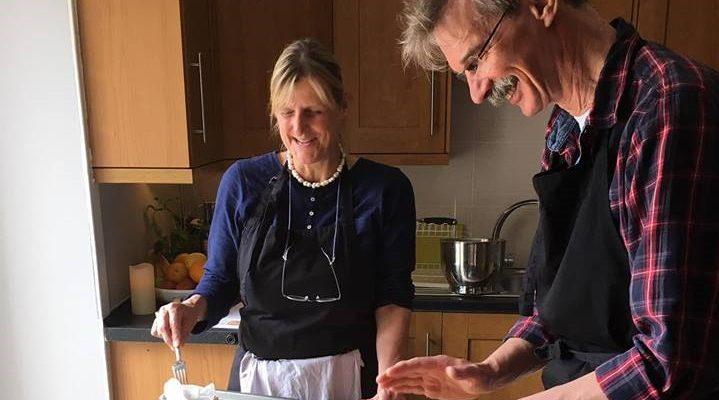 Clients Making Shortbread