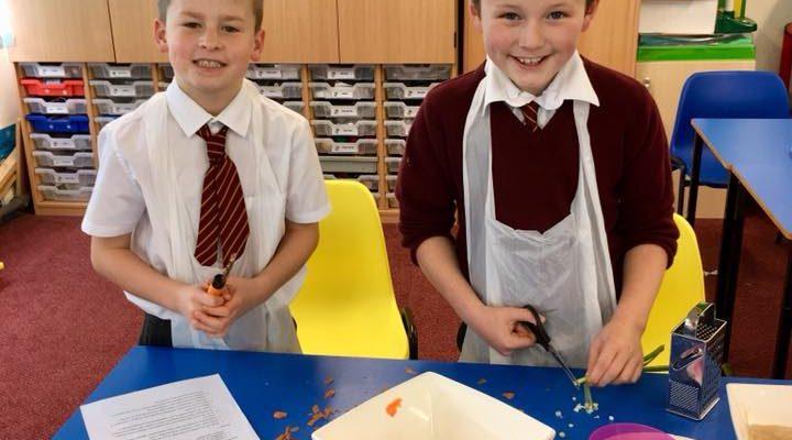 Fairtrade Cooking Workshops at Gardenrose Primary School, Maybole, Scotland